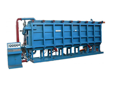 EPS automatic air-cooling block molding machine works