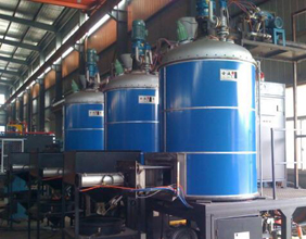Brief introduction of EPS intermittent pre - foaming machine