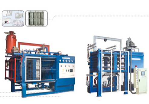 Simple foam molding machine features