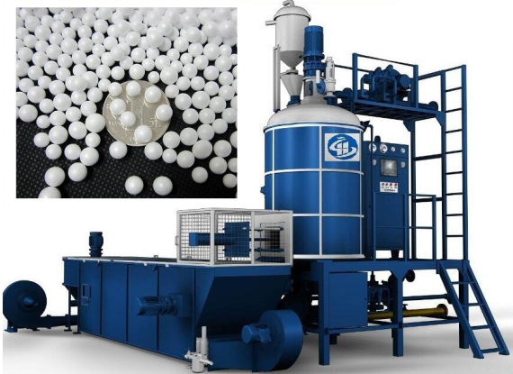 EPS Batch Pre-Expander With Fluidized Bed Dryer