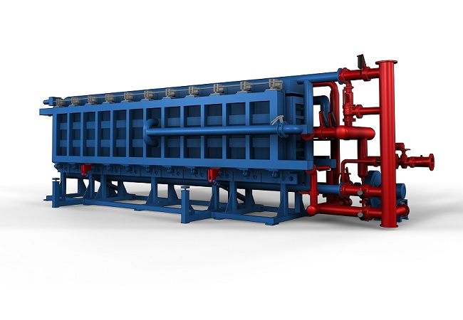 EPS automatic air-cooling block molding machine